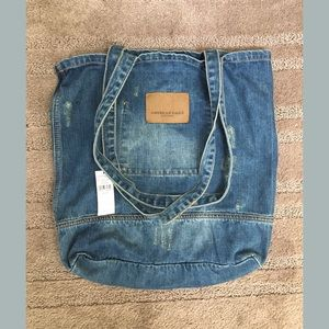 American Eagle Outfitters Denim Tote